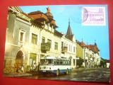 Maxima - Autobuz in Gheorghieni , anii '70, Necirculata, Printata