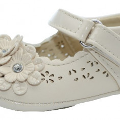 Pantofi eleganti pentru fetite-MRS S100-C, Crem