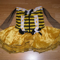 Costum carnaval serbare albinuta albina pentru adulti marime S, Din imagine