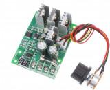 Variator tensiune 30A DC Dimmer Controler Turatie Motor 6V-60V Voltmetru