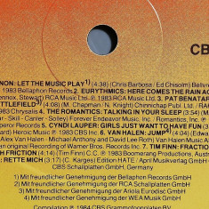 Ronny's Pop Show - Selectii (1984/CBS/RFG) - disc Vinil/Vinyl