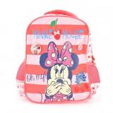 Ghiozdan Minnie Mouse, gradinita, buretat, roz-cherry, Pigna