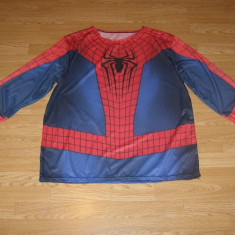 Costum carnaval serbare spiderman pentru adulti marime XXL, Din imagine