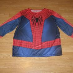 Costum carnaval serbare spiderman pentru adulti marime XXL, Din imagine