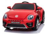 Masinuta electrica Volkswagen Beetle, rosu