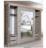 Dulap dormitor (nunața: ulm inchis), Pal, 2