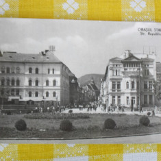 Brasov (orasul Stalin) - Bulevardul Republicii - CP circulata 1959