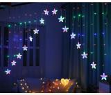 Cumpara ieftin Instalatie de Craciun perdea stele, multicolor