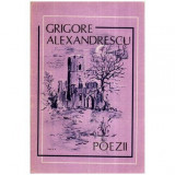 Poezii, Grigore Alexandrescu