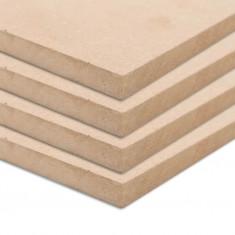 Plăci MDF pătrate, 4 buc., 60 x 60 cm, 25 mm