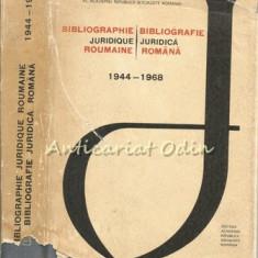 Bibliographie Juridique Roumaine - Traian Ionasco, Dragos Rusu