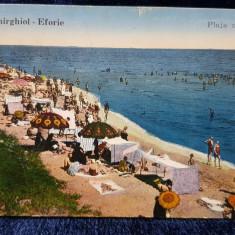 Techirghiol - Eforie. Plaja Noua - CP Ilustrata