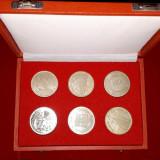 Caseta cu 6 medalii Germania, Europa
