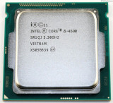 Procesor Intel Quad i5 4590, 3.30GHz Haswell, 6MB cache,Socket 1150,cooler Cupru, Intel Core i5, 4