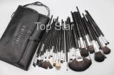 Cumpara ieftin Set 32 pensule machiaj Fraulein38 Studio Black + Borseta depozitare