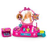 Kit manichiura pentru fetite Barbie Nail Studio, 2 x AA, 3 ani+, General