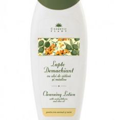 Lapte demachiant vitaminizant cu ulei catina si masline 250ml - Cosmetic Plant