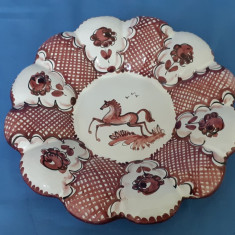 Farfurie de colectie ceramica italia