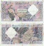 1964 ( 1 I ) , 5 dinars ( P-122a ) - Algeria