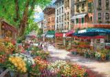 Puzzle Schmidt - 1000 de piese - Sam Park : Paris, flower market