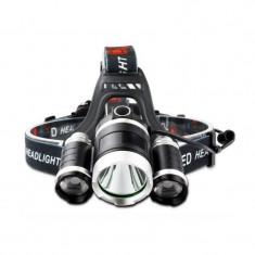 Lanterna Frontala WDX07 cu Acumulatori 20W 2000 lum