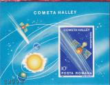 INTOARCEREA COMETEI HALLEY, COLITA NEDANTELATA,1986,Lp.1150,MNH.** ROMANIA., Spatiu, Nestampilat