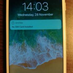 Telefon mobil IPHONE 6 16G alb ( auriu )  A1586,  ca nou, neblocat !