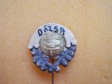 Insigna club fotbal Dozsa Ujpest, Ungaria, veche