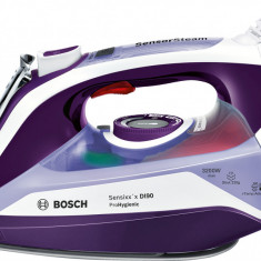 Fier de călcat cu generator de aburi Bosch, 3200W, Violet închis TDI903231H