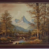 Tablou Pictură, Peisaje, Acrilic, Altul