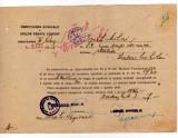 CFR INAINTARE IN CLASA IMPEGAT DE MISCARE STATIA  VALEA LUI MIHAI STAMPILE 1946, Documente