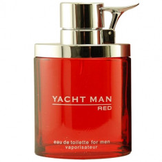 Yacht Man Red Apa de toaleta Barbati 100 ml