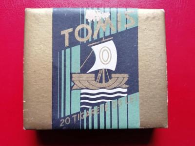 Cutie tigari tigarete Tomis foto