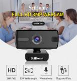 Camera web, SriHome™ SH004 Pro, FullHD 3MP, 1536p, Microfon incorporat, Peste 2.4 Mpx, CMOS
