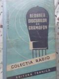 REDAREA DISCURILOR DE GRAMOFON-D.D. GRIGORESCU