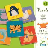 Puzzle lemn Animale