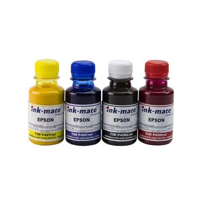 Set 4 culori cerneala de sublimare foto