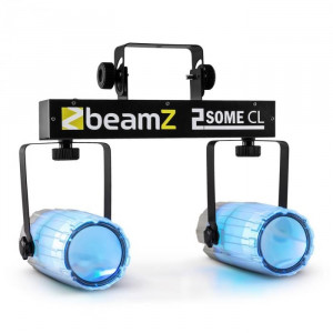 Beamz 2 lumina Set RGBAW LED Microfon