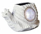 Lampa solara Snail - Best Season, Gri & Argintiu