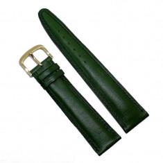 Curea pentru ceas din piele naturala verde - 20mm C2944