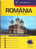 Romania - Atlas rutier si turistic/ Road atlas / Autoatlas