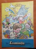 Revista pentru copii - luminita iunie 1987