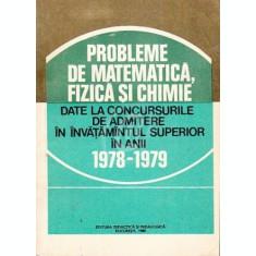 Probleme de matematica, fizica si chimie (1980)