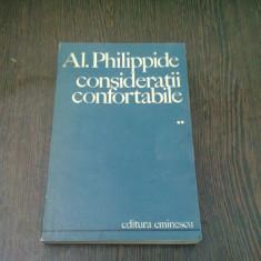 CONSIDERATII CONFORTABILE - AL. PHILIPPIDE VOL.2