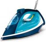 Fier de calcat Philips Smooth Care GC3582/20, Talpa Ceramica, 2400W, 0.4l (Alb-Albastru), 2400 W
