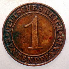 1.440 GERMANIA WEIMAR 1 RENTENPFENNIG 1923 J