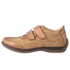 Pantofi copii, din piele naturala, sOliver, 6909W4C-3, bej