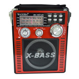 Cumpara ieftin Radio MP3 portabil Waxiba XB-1051 UR, 3 benzi, Rosu