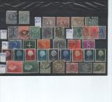 Timbre olanda 1899-54, Stampilat