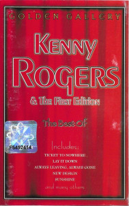 Caseta Kenny Rogers & The First Edition ‎– The Best Of, originala